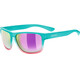 UVEX LGL 36 Lifestyle Glasses turquoise pink/mirror pink.